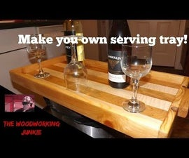 How to Make a Serving Tray