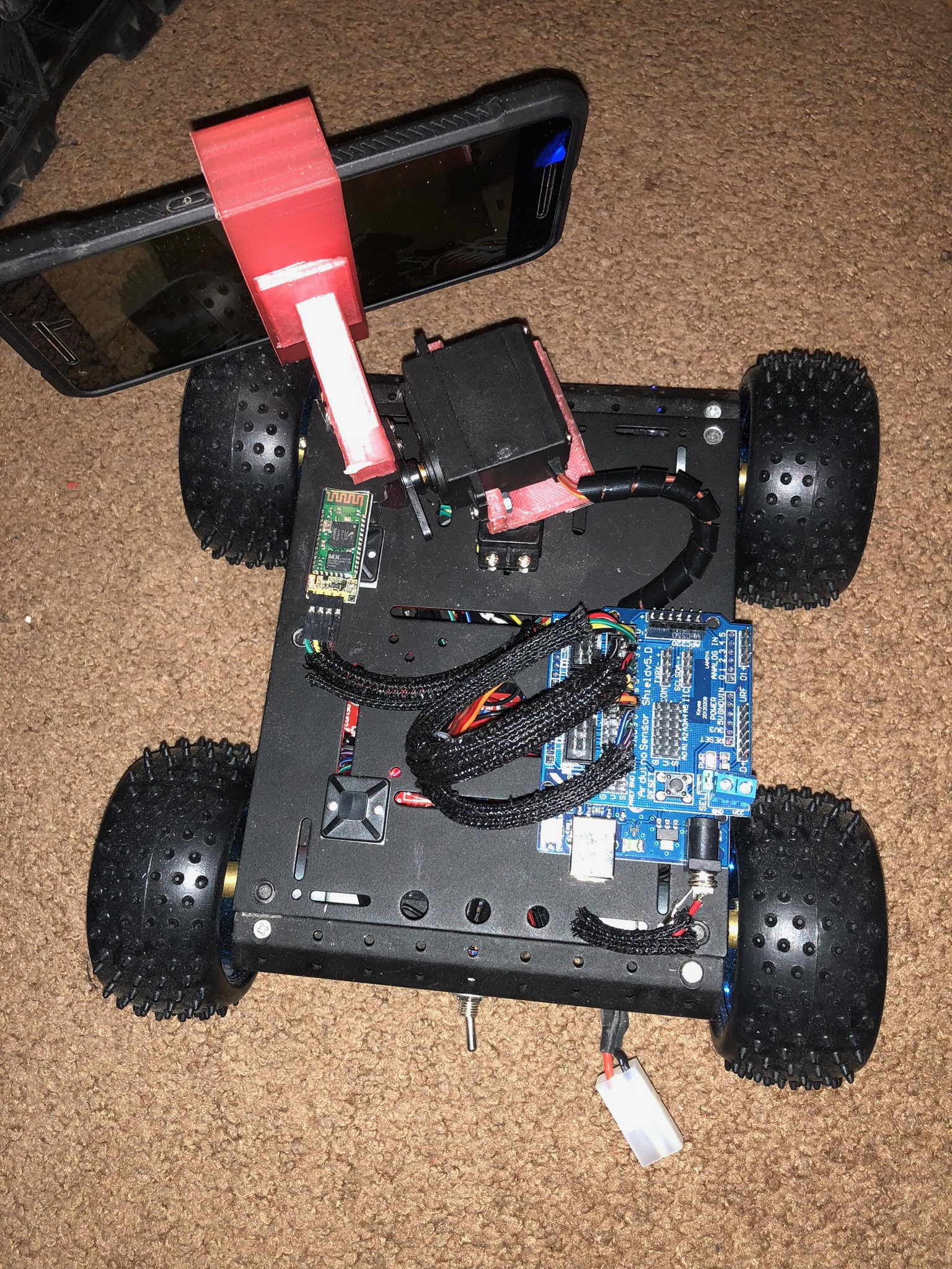 Picture of Face Tracking Arduino Robot