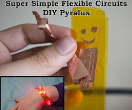 DIY Pyralux for Flexible Circuits