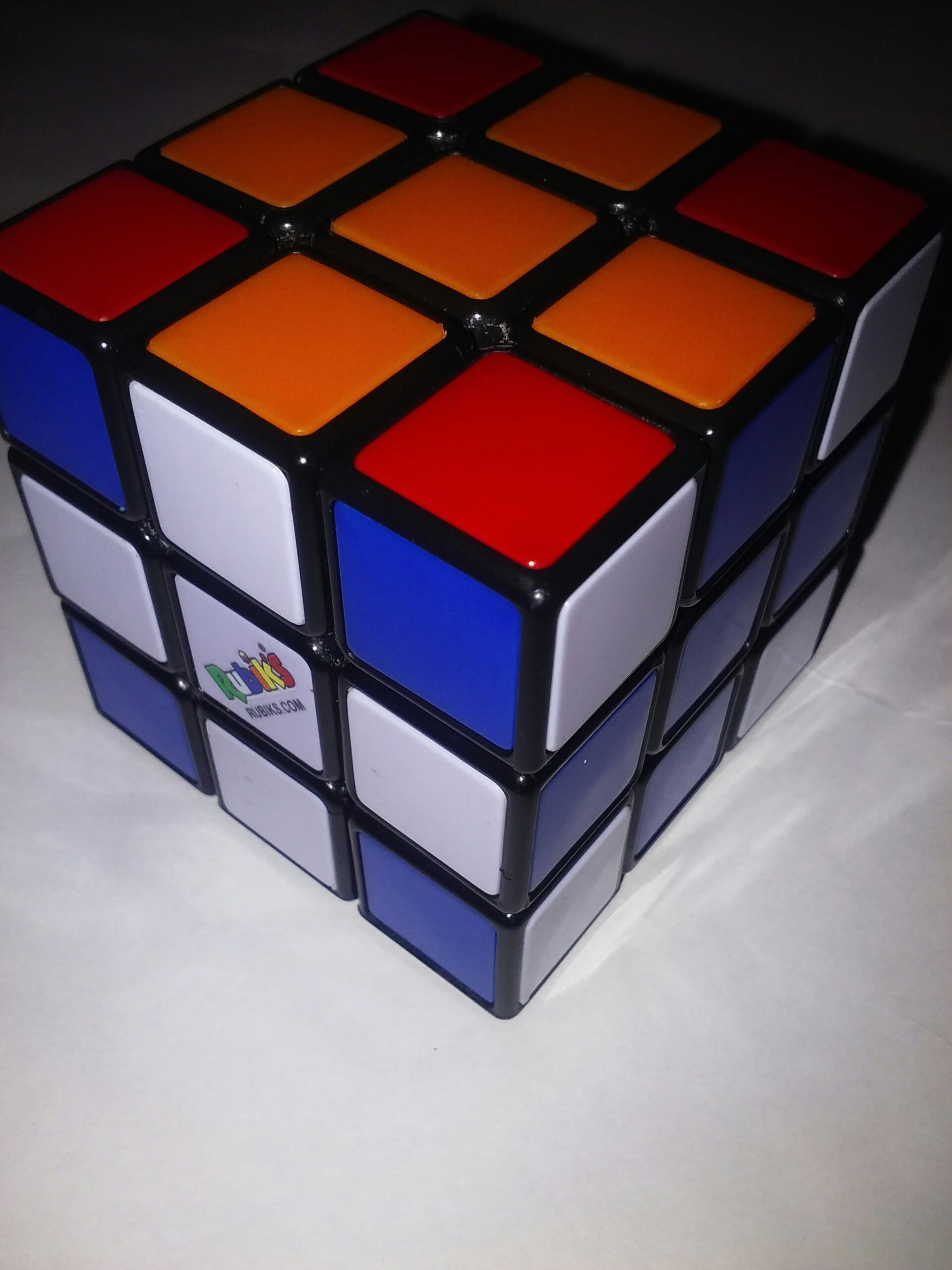 Picture of Rubiks Cube Tricks:Cross 2