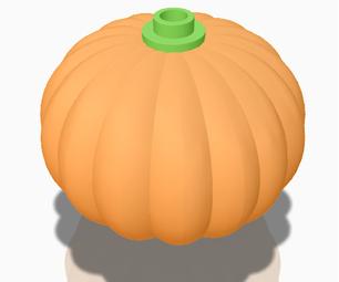 3D Printable Lego Pumpkin