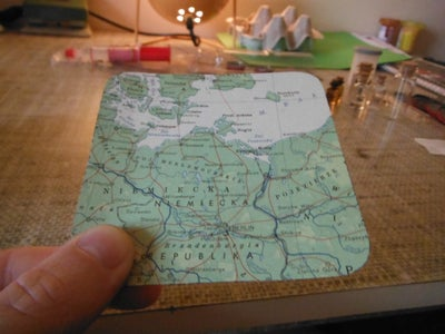 Trace and Cut Your Map