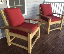 Custom DIY Patio Set