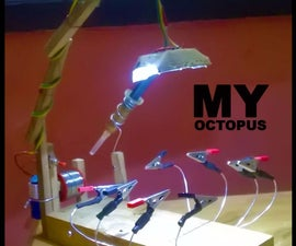 EXTRA HANDS FOR SOLDERING - OCTOPUS