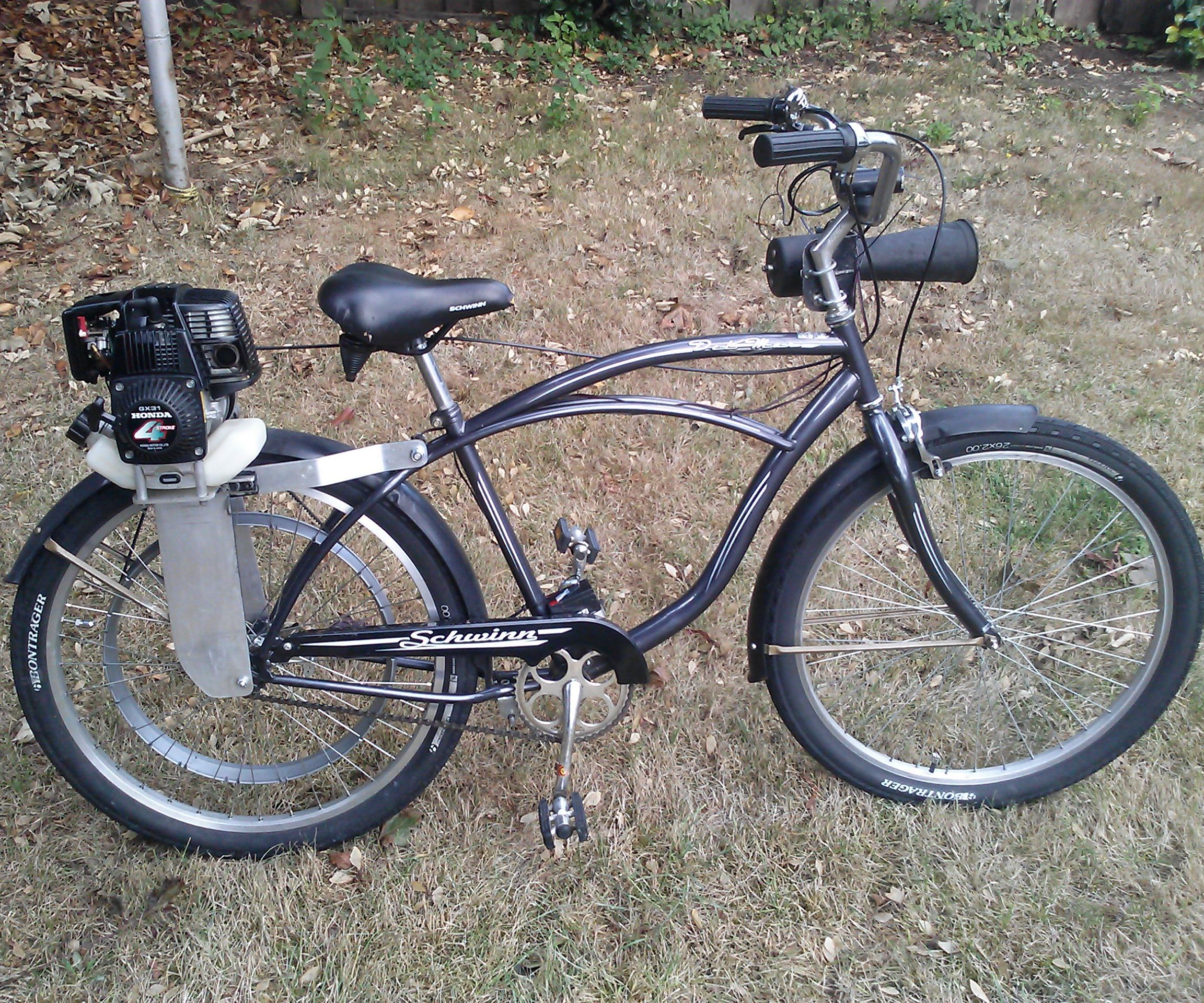 Honda Motorized Bicycle: 5 Steps (with Pictures)