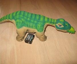 Run Pleo on AA Batteries