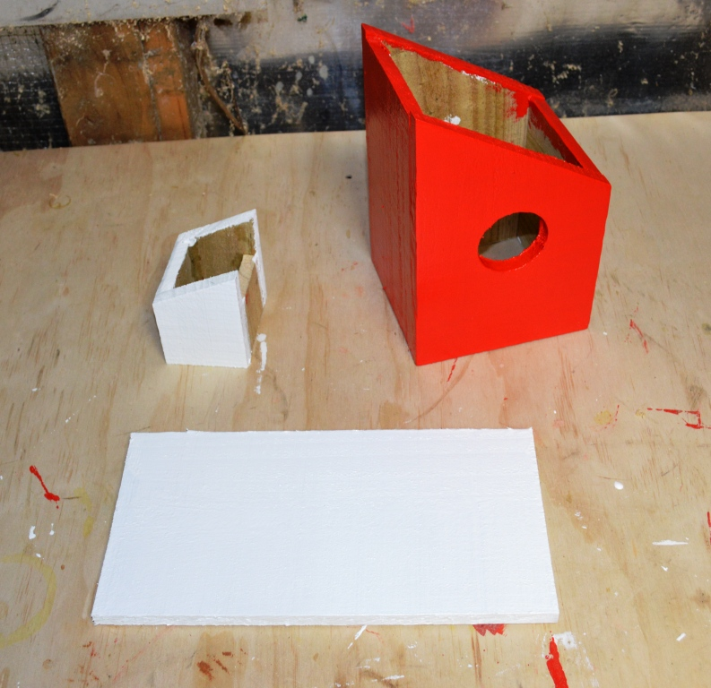 Picture of Building Your Birdhouse - Painting