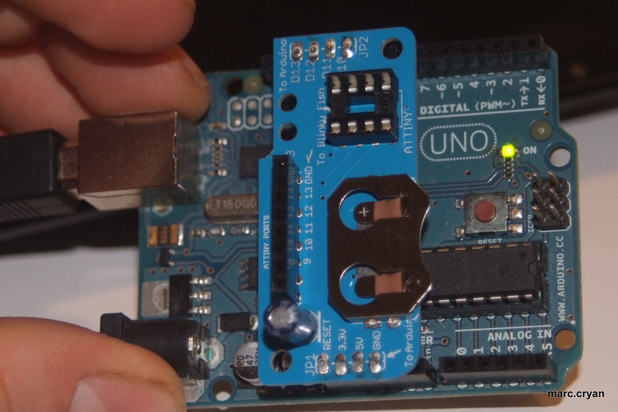 Picture of Attach to Arduino