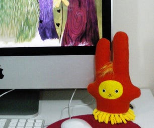 'Dust Bunny' Plush Screen Duster