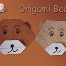 How to Make a Cute Origami Bear Face Instructions