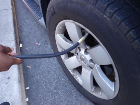 Picture of Keep Your Car Tires Filled.
