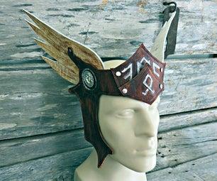Leather Valkyrie Headpiece