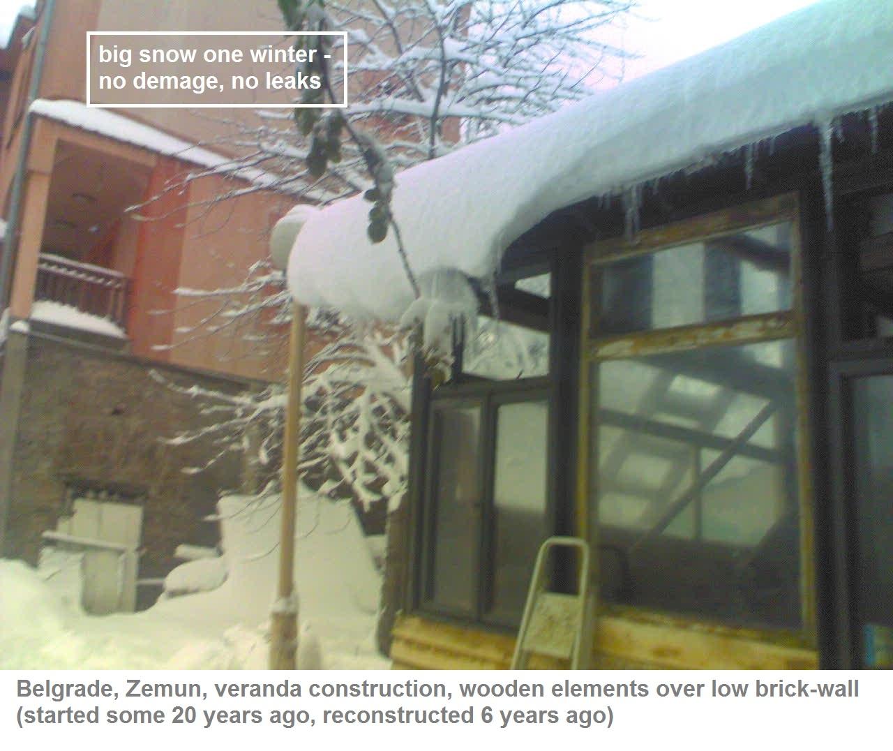 Picture of CLOSED VERANDA FOR SMALL HOUSE IN ZEMUN, BELGRADE, SERBIA