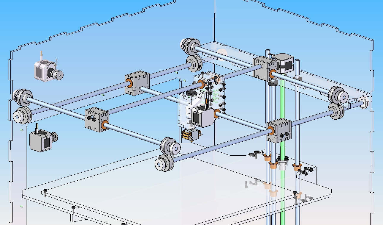 Picture of Component Design: Parallel Gantry
