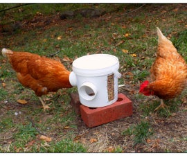 Super Simple Chicken Feeder