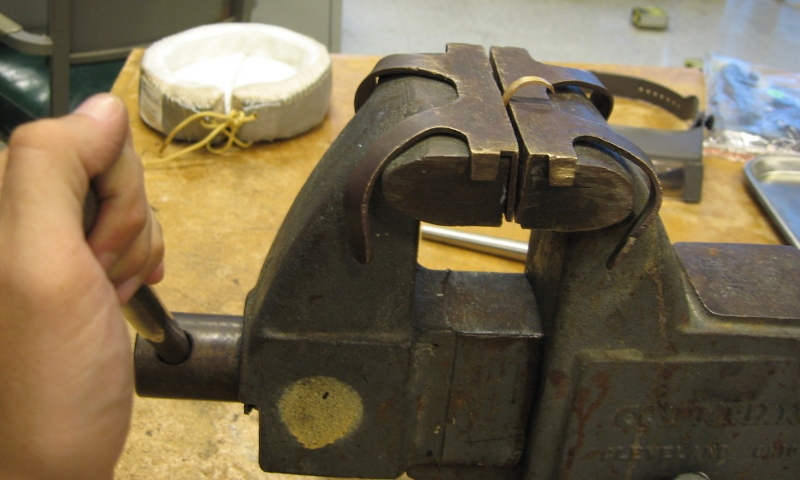 Picture of Curving the Ring Blanks