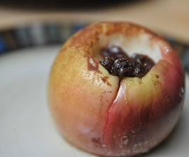 How to Make Cinnamon Baked Apples in the Microwave