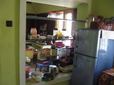 Home Improvement : Providing Sliding Doors for Kitchen Cupboard