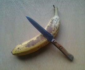 Improv: Dice a Banana in Its Peel