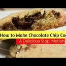 How to Make Soft Delicious Chocolate Chip Cookies From Scratch an Animation