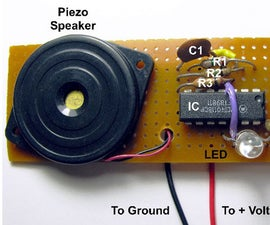 Voltage Probe With Tone and LED Outputs