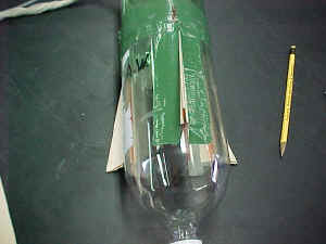 Picture of Tennis Ball Bottle Rocket by Mike Grey and Jeanine Costa