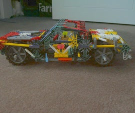 chevy knex show car - instructable