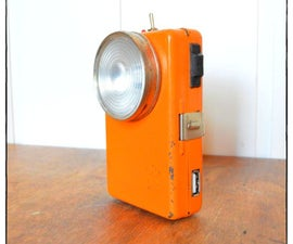 Up-Cycle a Vintage Flashlight