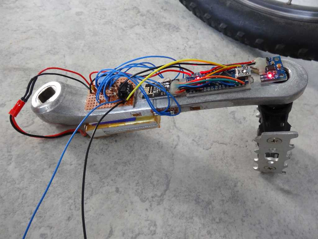 Picture of The Completed Crank and Receiver