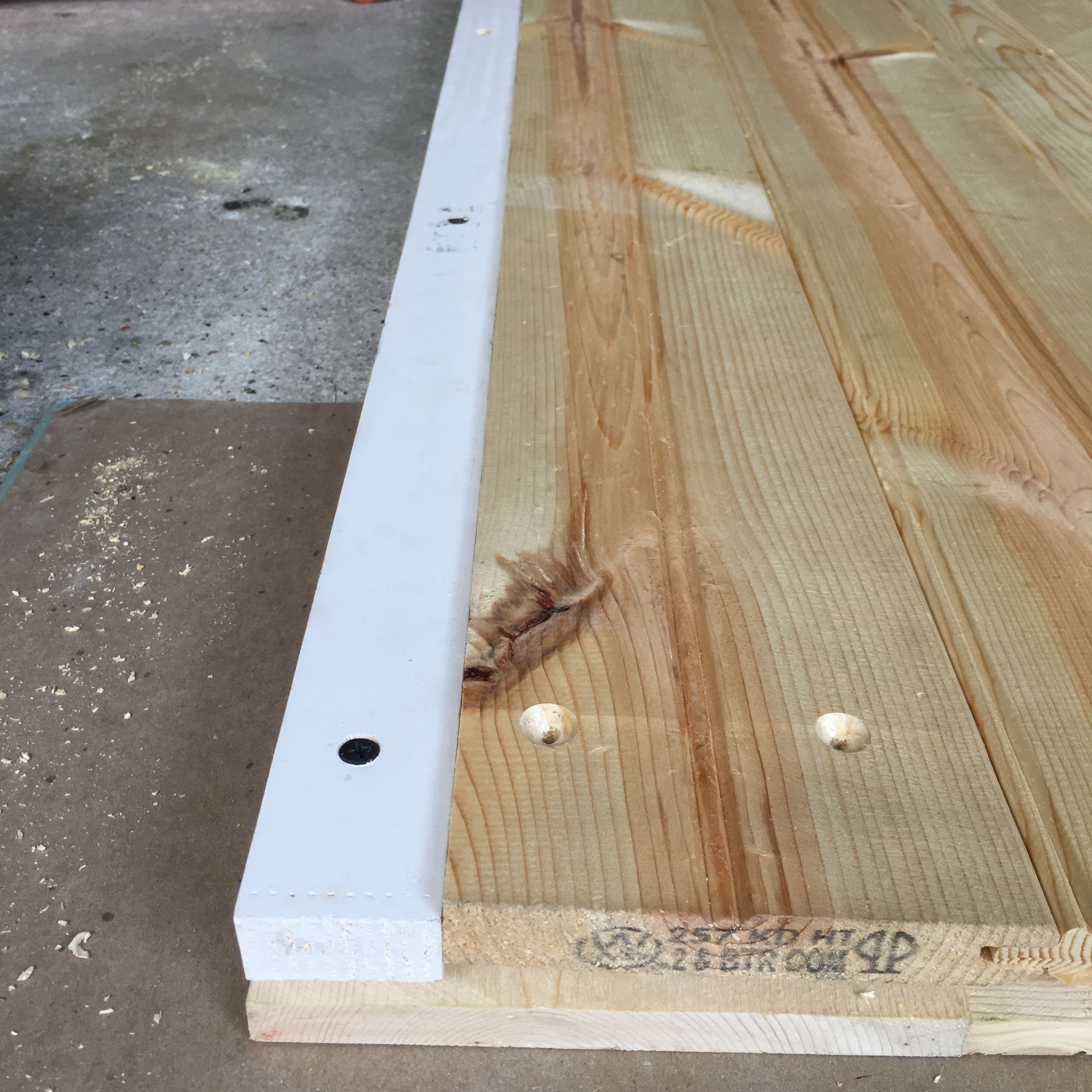 Picture of Cut Tongue and Grove Boards to Fit