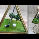 How to Make Golf Course Diorama