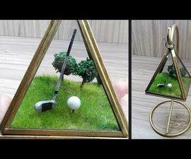 How to Make Golf Course Diorama