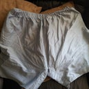 How to make shorts out of a pillowcase.