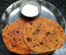 Fenugreek Leaves Paratha ( Flat Bread)