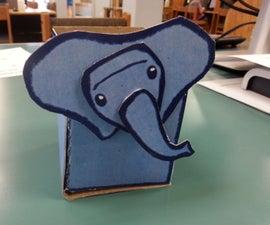 Elephant Pencil Holder