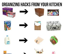 Organize on a budget - Tips, hacks & How to !!