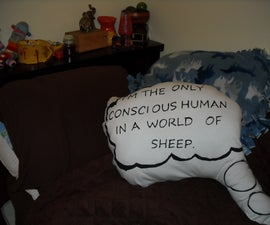 XKCD Quote Pillow