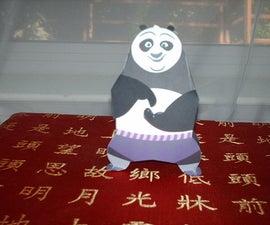 Po (The Dragon Warrior) Papercraft