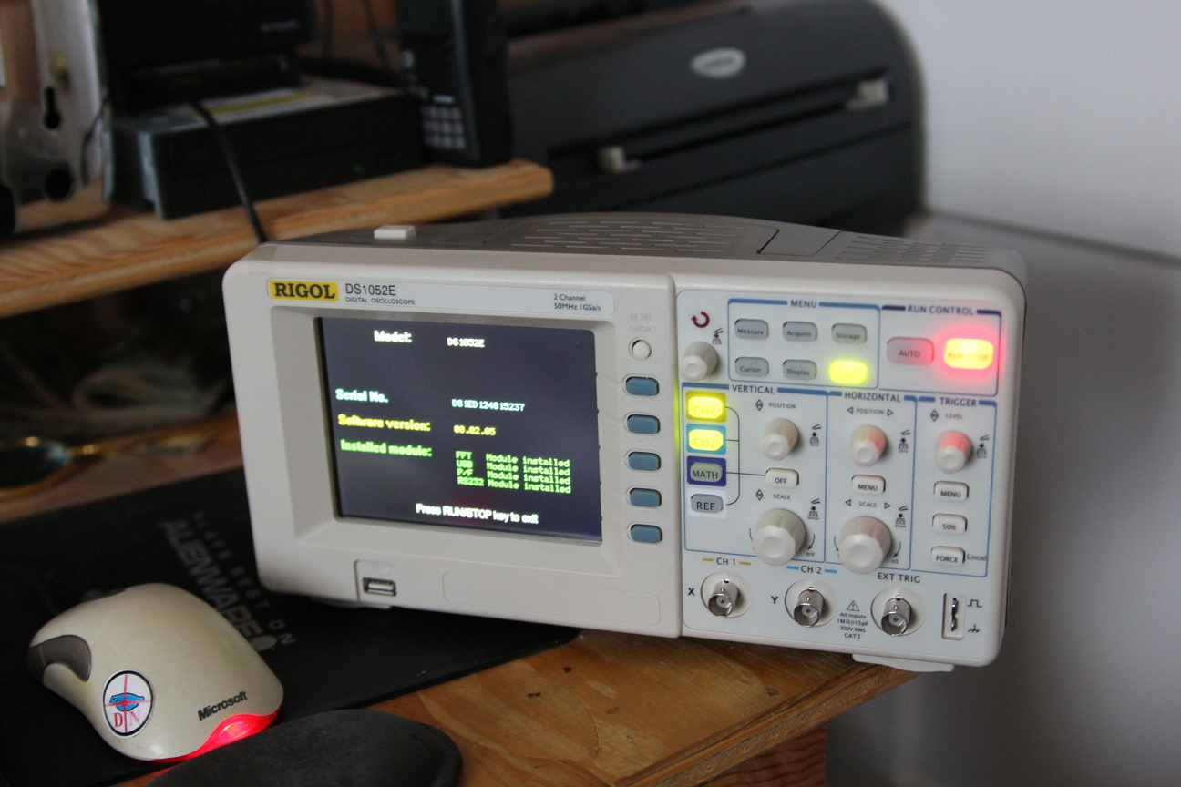 Picture of Hacking the Rigol DS1052E Oscilloscope With Linux