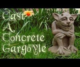 Cast a Concrete Gargoyle