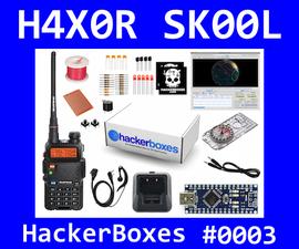 HackerBoxes 0003: Amateur Radio, Arduino Nano, Satellites, Packet, APRS