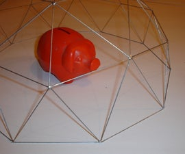 Time + Wire = Geodesic dome!!!