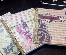 Custom Notebook Cover