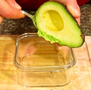 Method 2: Mashed Avocado