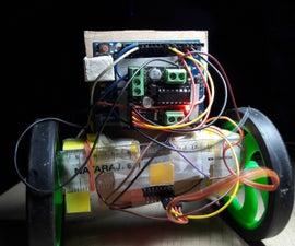 Self Balancing Arduino Robot_PID