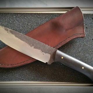 How to Make Leather Knife Sheath