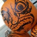 Spooooky Sharpie Pumpkin!!!