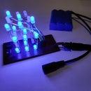 3x3x3Binary Counter LED Cube