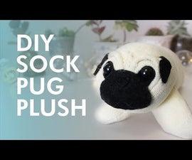 Pug Sock Plush