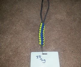 Easy Paracord 3-Color Necklace